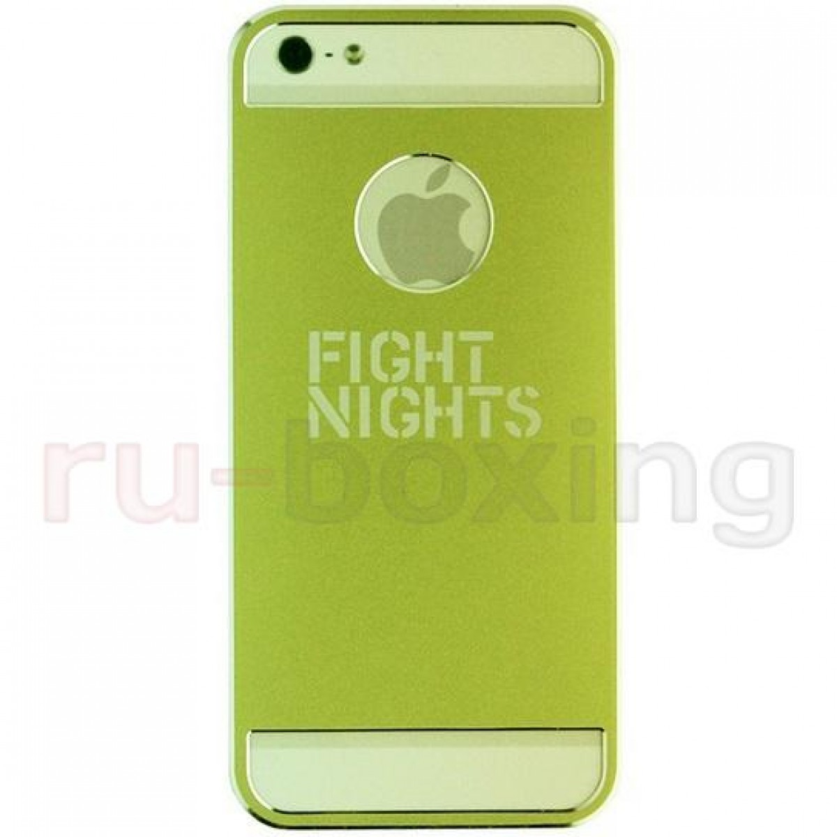 Чехол для iphone 5  Fight Nights салатовый