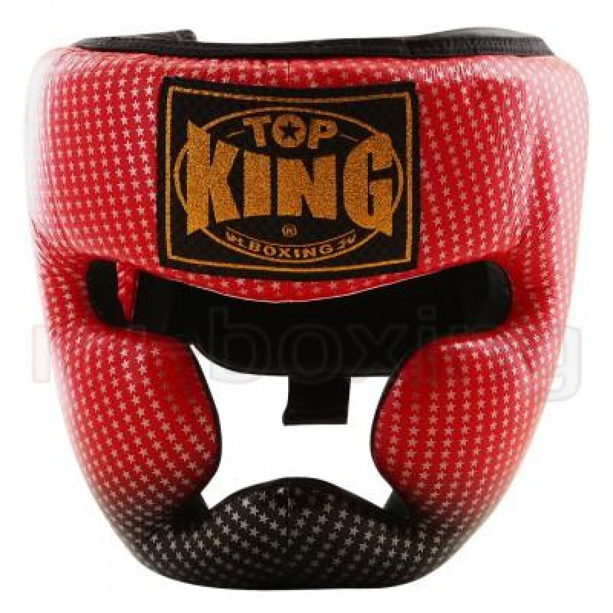 Шлем Top King Super Star красный